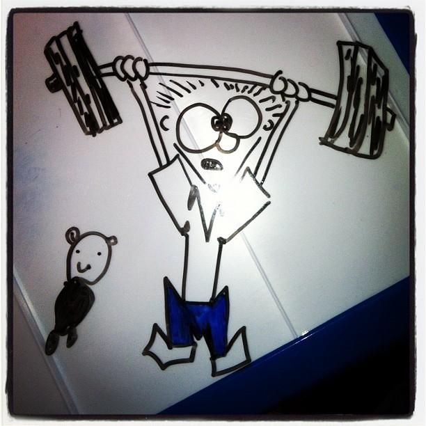 StoneWay CrossFit Snatch Cartoons