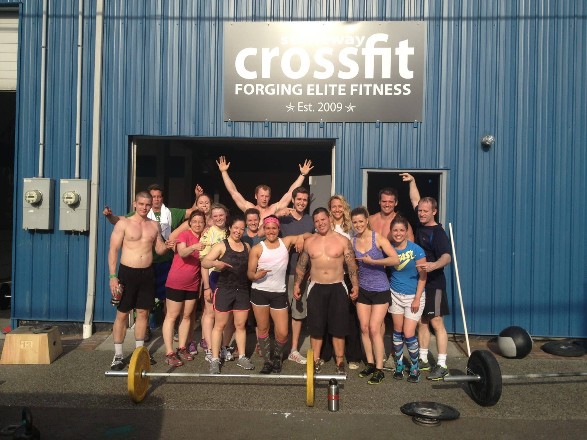 Anyone sore from Coach Scott's Bday WOD?!